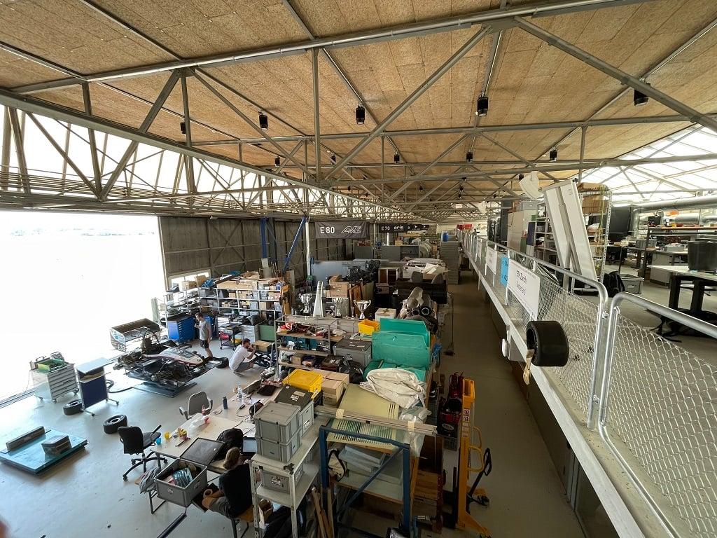 Im Hangar 3 der ETH Zürich ist bereits einiges los!